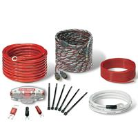 KIT INSTALLAZIONE STREETWIRES 10mm2  5+1metri Red/White 60A AFC-en