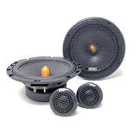 SISTEMA A 2 VIE CON WOOFER DA 165 MM E TWEETER CUPOLA IN SETA